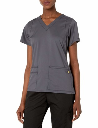 WONDERWINK Next Charlotte V-Neck Women's Scrub Top