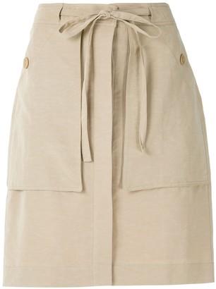 Egrey Kate straight skirt