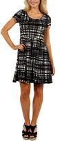 24/7 Comfort Apparel Springtime Belle Fit & Flare Dress