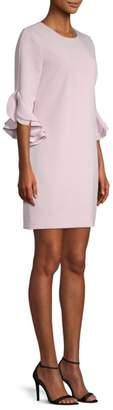 Milly Fernanda Ruffle Dress