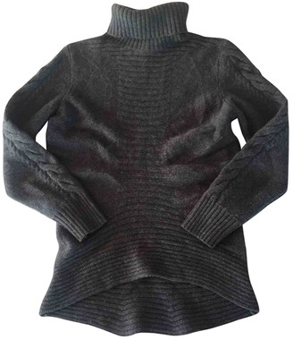 HUGO BOSS Grey Wool Knitwear for Women