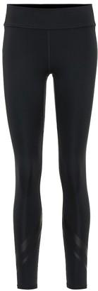 Tory Sport Chevron side-pocket leggings