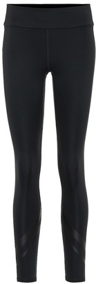 Tory Sport Chevron side-pocket leggings