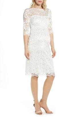 Tiffany Rose Amelia Lace Maternity Sheath Dress