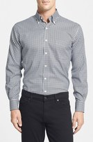 Peter Millar 'Nanoluxe' Regular Fit Wrinkle Resistant Twill Check Sport Shirt
