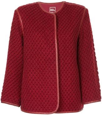 Issey Miyake Pre-Owned textured jacket