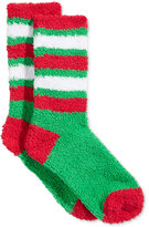 Charter Club Women's Holiday Stripe Butter Socks, Only at Macy's