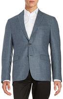 Lauren Ralph Lauren Plaid Wool-Blend Jacket