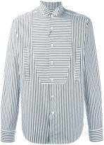 Loewe stripe panel shirt