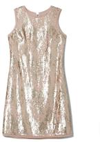 Vince Camuto Two-Tone Sequin Dress