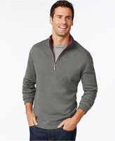 Tommy Bahama Flip Side Reversible Zip Neck Sweater