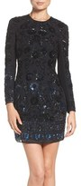 Needle & Thread Women's Embellished Mesh Sheath Dress