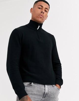 Produkt organic half zip knitwear
