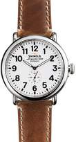 Shinola The Runwell Brown Strap Watch, 47mm