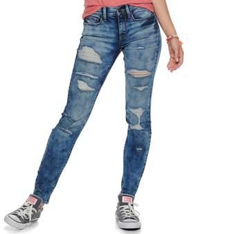 Mudd Juniors' Low-Rise Skinny Jeans