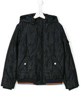 Armani Junior hooded coat