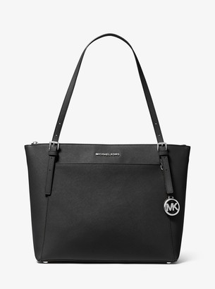 MICHAEL Michael Kors Voyager Large Saffiano Leather Top-Zip Tote Bag