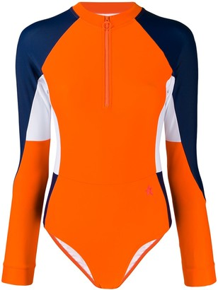 Perfect Moment Long-Sleeved Surfing Swimsuit
