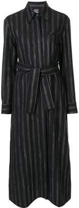Lorena Antoniazzi pinstriped shirt dress
