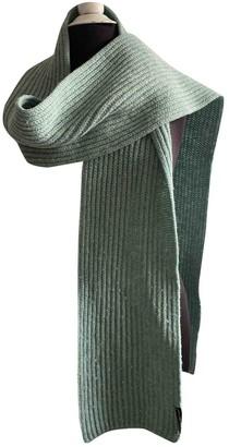 Balenciaga Green Wool Scarves