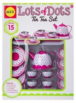 Alex Lots Of Dots Tin Tea Set