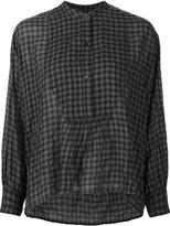 Nili Lotan checked blouse