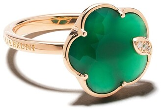 Pasquale Bruni 18kt rose gold Petit Jolie agate and diamond ring