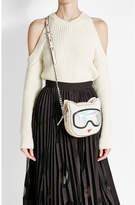 Karl Lagerfeld Shoulder Bag with Leather