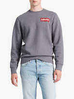 Levi's Logo Sweatshirt, Grey