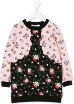 Vivetta Kids flower print sweatshirt