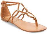 Dolce Vita Caramel Dora Strappy Flat Sandals