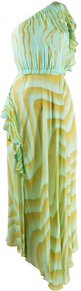 Just Cavalli One-Shoulder Dress