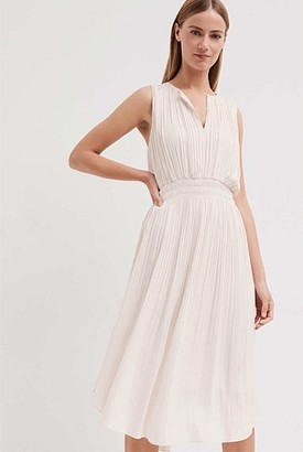 Witchery Fine Pleat Dress