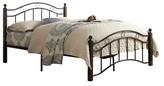 Homelegance Dorset Platform Metal Bed Black/Brown (Full)