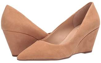 Franco Sarto Alicia (Camel Suede) Women's Lace Up Wing Tip Shoes