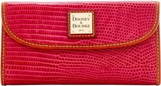 Dooney & Bourke Embossed Lizard Continental Clutch