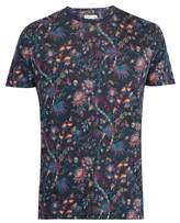 Etro Floral-print Linen-jersey T-shirt
