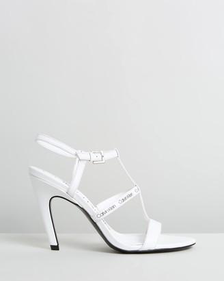 Calvin Klein Gemima Cow Silk Heels