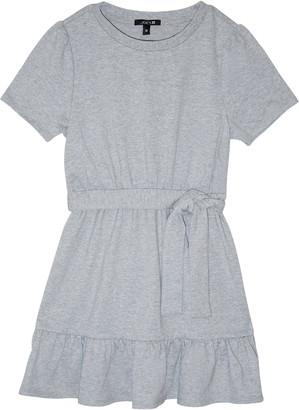 Joe's Jeans The Faye Ruffle French Terry Sweatshirt Dress