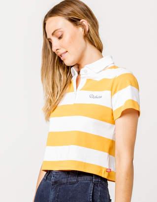 Dickies Stripe Crop Polo Shirt