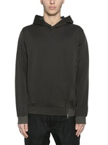 Stone Island Techno Nylon Cotton Fleece Sweatshirt