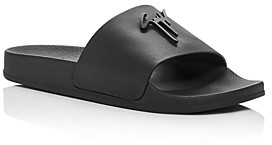 Giuseppe Zanotti Men's Birel Leather Slide Sandals