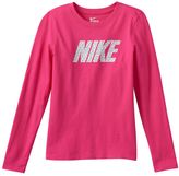 Nike Girls 7-16 Athletic-Cut Graphic Top