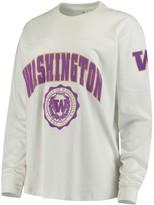 Unbranded Women's White Washington Huskies Edith Long Sleeve T-Shirt