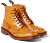 Tricker's Stow Leather Brogue Boots