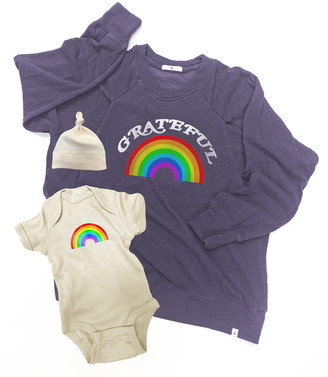 Bun Maternity Rainbow Mommy & Me Set