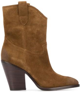 Ash Elvis mid-calf suede boots