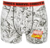 Marvel Mens M Comics Single Boxer Shorts Casual Printed Fashion Underwear