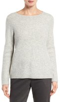 Eileen Fisher Cashmere Blend Bouclé Sweater