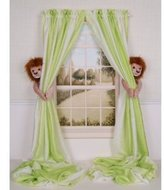 Curtain Critters ALBNLN130909SET Plush Safari Lion Curtain Tieback Set- 2